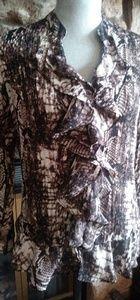 Beautiful animal print blouse